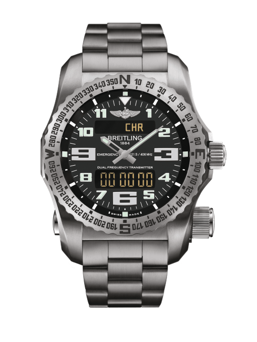 Breitling Emergency Chronograph Titanium 51Mm (E7632522/bc02/159E) - Watches Boston