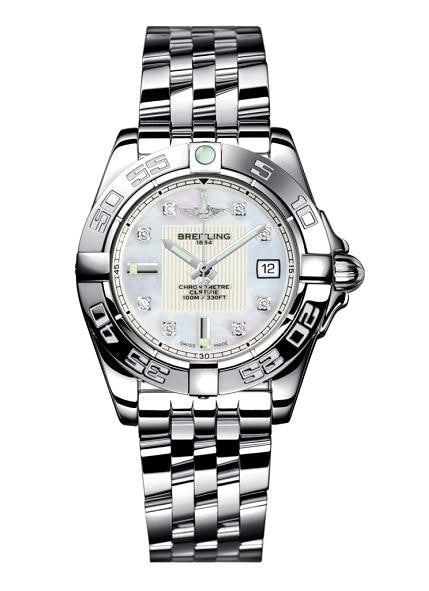 Breitling Galactic 32Mm Stainless Steel (A71356L2/a708/367A) - Watches Boston