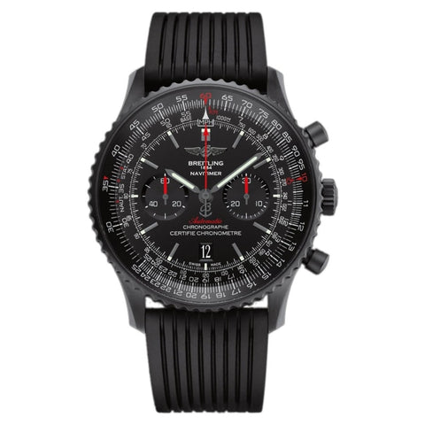 Breitling Navitimer 01 46Mm Black Steel (Mb012822/be51) - Watches Boston