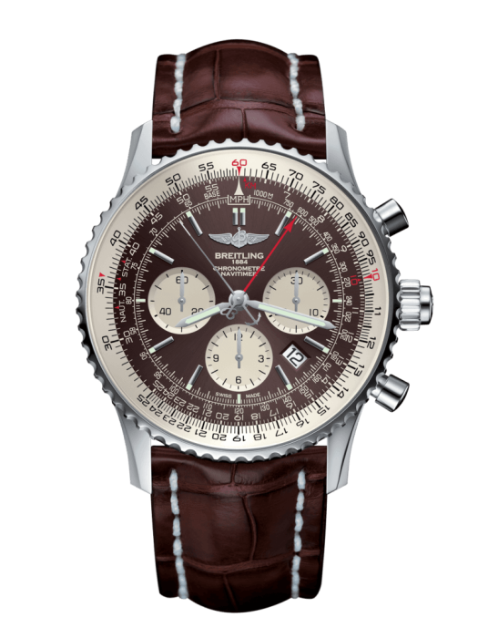 Breitling Navitimer 1 B03 Chronograph Rattrapante 45Mm Stainless Steel Head Only (Ab03121/q615) - Watches Boston