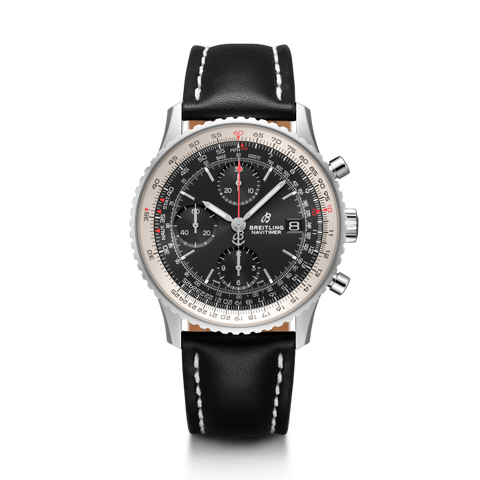 Breitling Navitimer 1 Chronograph 41Mm Stainless Steel/leather Strap (A13324121B1X1) - Watches Boston