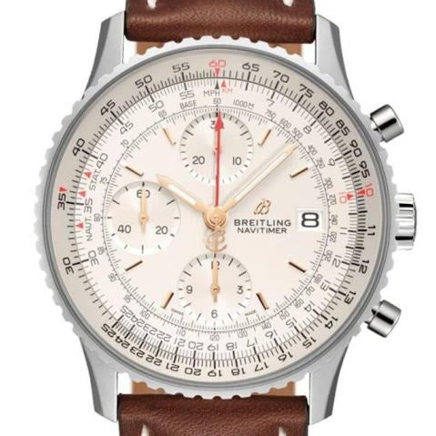 Breitling Navitimer 1 Chronograph Stainless Steel 41 Silver (A13324121G1X3) - Boston