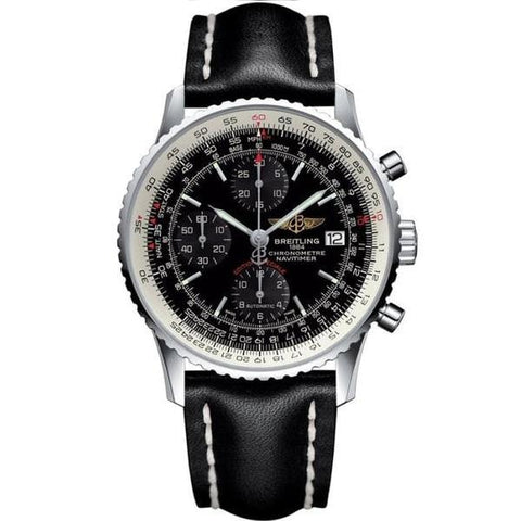 Breitling Navitimer Heritage 42Mm Stainless Steel (A1332412/bf27) - Watches Boston