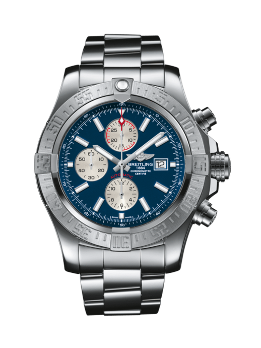 Breitling Super Avenger Ii 48Mm Stainless Steel (A1337111|C871|168A) - Watches Boston