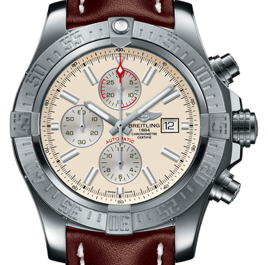 Breitling Super Avenger II Silver Dial HEAD ONLY - Boston