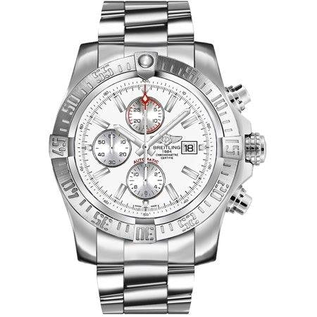Breitling Super Avenger Ii 48Mm Stainless Steel Head Only (A1337111/g779) - Watches Boston
