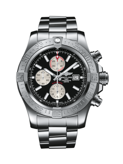 Breitling Super Avenger Ii 48Mm Stainless Steel Head Only (Ab044121/bd2) - Watches Boston