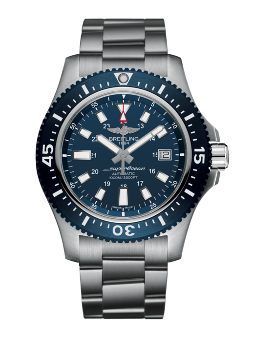 Breitling Superocean 44Mm Special Stainless Steel (Y1739316/c959/162A) - Watches Boston