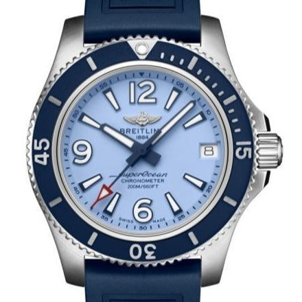 Breitling Superocean II Automatic 36 Stainless Steel Blue (A17316D81C1S1) - Boston