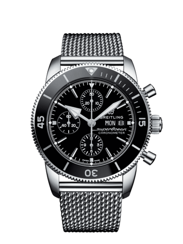 Breitling Superocean Heritiage Ii Chronograph 44Mm Stainless Steel ( A13313121B1A1) - Watches Boston