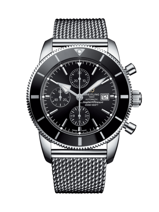 Breitling Superocean Heritiage Ii Chronograph 46Mm Stainless Steel (A1331212/bf78/152A) - Watches Boston