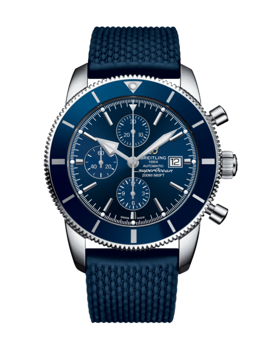 Breitling Superocean Heritiage Ii Chronograph 46Mm Stainless Steel/rubber Strap (A1331216/c963/276S/a20D.2) - Watches Boston