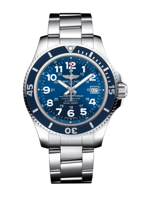 Breitling Superocean Ii 42Mm Stainless Steel Head Only (A17365D1/c915) - Watches Boston