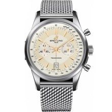 Load image into Gallery viewer, Breitling Transocean Chronograph Stainless Steel 43Mm Limited Edition (Ab015412/g784) - Watches Boston