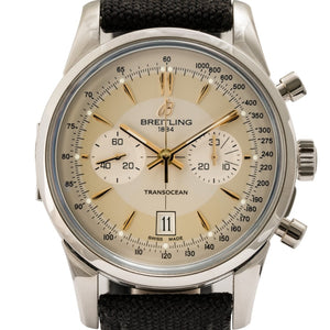 Breitling Transocean Chronograph Stainless Steel 43Mm Limited Edition (Ab015412/g784) - Watches Boston