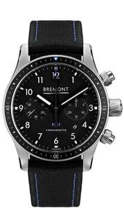 Bremont Boeing Pilot Chronograph 43Mm Stainless Steel (Bb247-Ss/bk) - Watches Boston