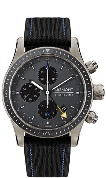 Bremont Boeing Pilot Chronograph Gmt 43Mm Titanium (Bb247-Ti-Gmt/dg) - Watches Boston