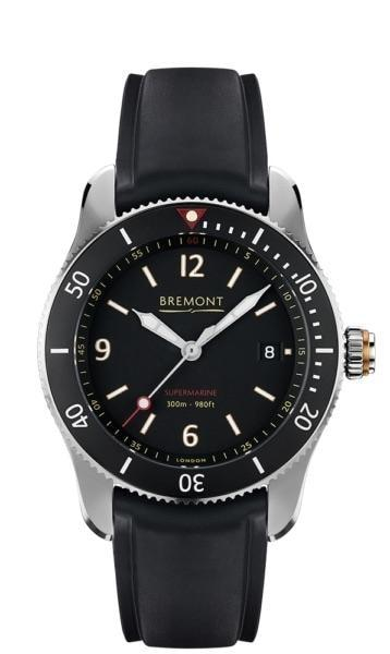 Bremont Supermarine Type 300 40Mm Stainless Steel (S300/bk) - Watches Boston