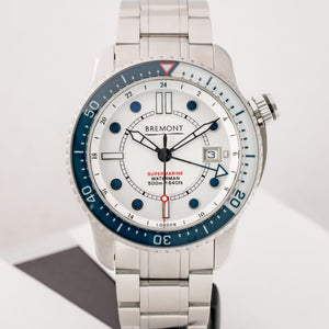 Bremont Supermarine Waterman Stainless Steel 43mm (S500-Waterman) - Limited to 300 - Boston