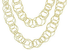 Load image into Gallery viewer, Buccellati Gold Hawaii Chain Link Necklace - Jewelry Boston