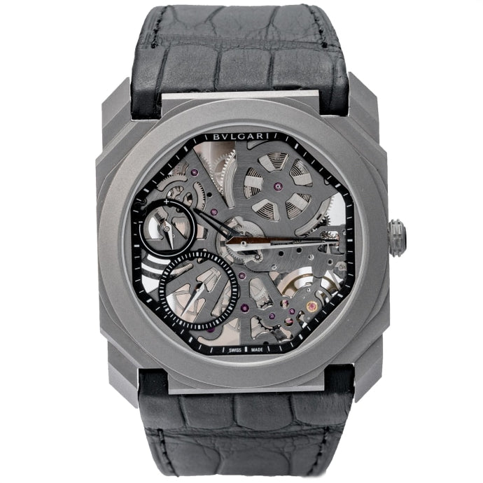 Bulgari Octo Finissimo Ultra-thin Skeleton Titanium 40mm (102714) - Boston
