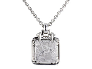 Carrera Y Carrera Horse Head Pendant Necklace (18K White Gold) - Jewelry Boston