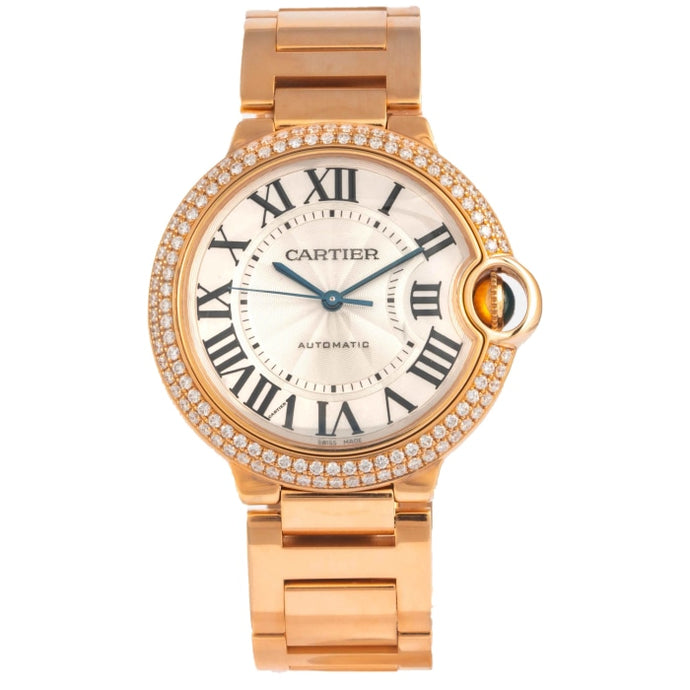Cartier Ballon Bleu Rose Gold 36mm (WJBB0005) - Boston