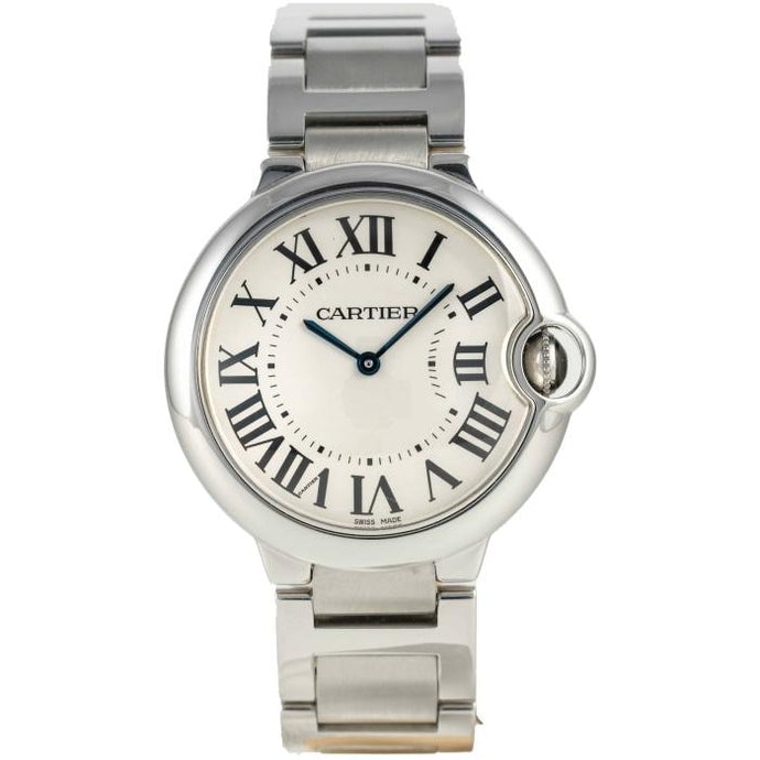 Cartier Ballon Bleu Stainless Steel 36 Silver - Boston