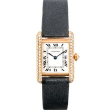 Load image into Gallery viewer, Cartier Ladies Tank Louis Rose Gold and Diamonds 23mm x 29mm - Boston