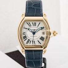 Load image into Gallery viewer, Cartier Roadster Yellow Gold Silver Dial Automatic 36mm (W62005V2) - Boston