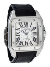 Load image into Gallery viewer, Cartier Santos 100 Stainless Steel 38Mm (W20073X8) - Watches Boston