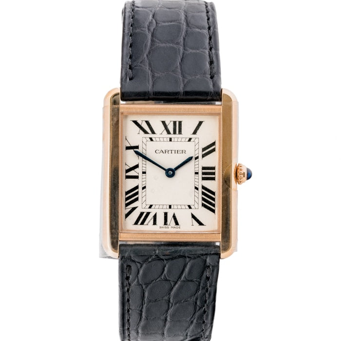 Cartier Tank Solo Rose Gold Large Model (W5200025) - Boston