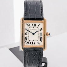 Load image into Gallery viewer, Cartier Tank Solo Rose Gold Large Model (W5200025) - Boston