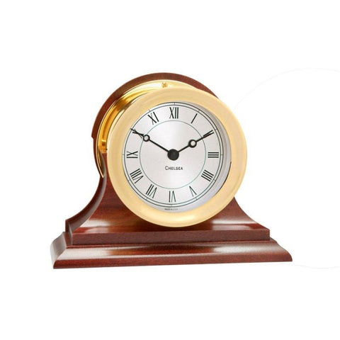 Chelsea 4.5 Presidential Clock W/ Traditional Base - Gifts Boston