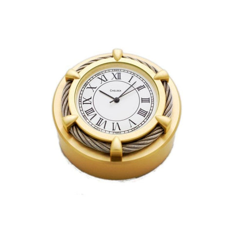 Chelsea Cable Paperweight 2 Clock - Gifts Boston