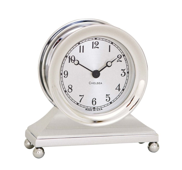 Chelsea Clock Constitution Nickel 3.5 Clock - Gifts Boston