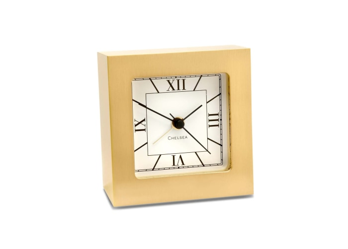 Chelsea Clock Square Desk 3 Alarm Clock - Gifts Boston