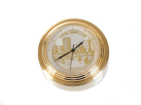 Chelsea Esplanade Waterfall Paperweight Clock - Gifts Boston