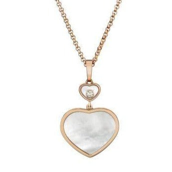 Chopard Happy Hearts RG MOP Pendant - Boston