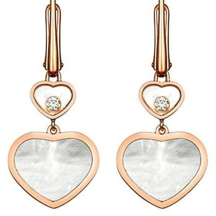 Chopard RG Happy Diamonds Heart Earrings - Boston