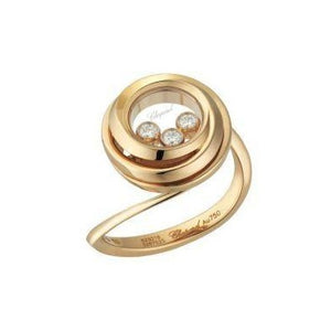 Chopard 0.15 Carat Happy Emotions Ring (Rose Gold) - Jewelry Designers Boston