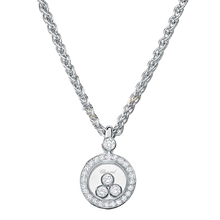 Load image into Gallery viewer, Chopard~ 0.36Ctw Happy Diamonds Icon Pendant - Jewelry Boston