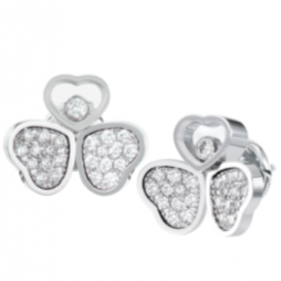 Chopard Happy Hearts WG Earrings - Boston