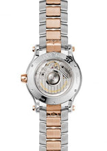 Load image into Gallery viewer, Chopard~ Happy Sport Stainless Steel/rose Gold 36Mm W/ Diamond Bezel (278559-6004) - Watches Boston