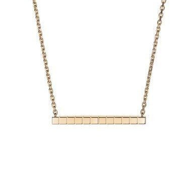 Chopard Ice Cube Necklace (Rose Gold) - Jewelry Designers Boston