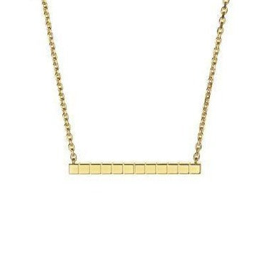 Chopard Ice Cube Pendant (Yellow Gold) - Jewelry Designers Boston