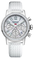 Chopard Mille Miglia Classic Chronograph 42Mm Stainless Steel W/ Diamonds (178588-3001) - Watches Boston