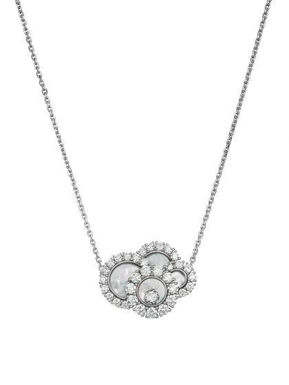 Chopard~2.10Ctw Happy Dreams Diamond Necklace - Jewelry Boston