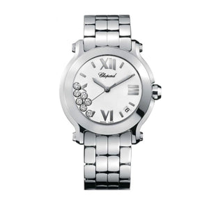 Chopard~Happy Sport Stainless Steel 36Mm (278477-3001) - Watches Boston