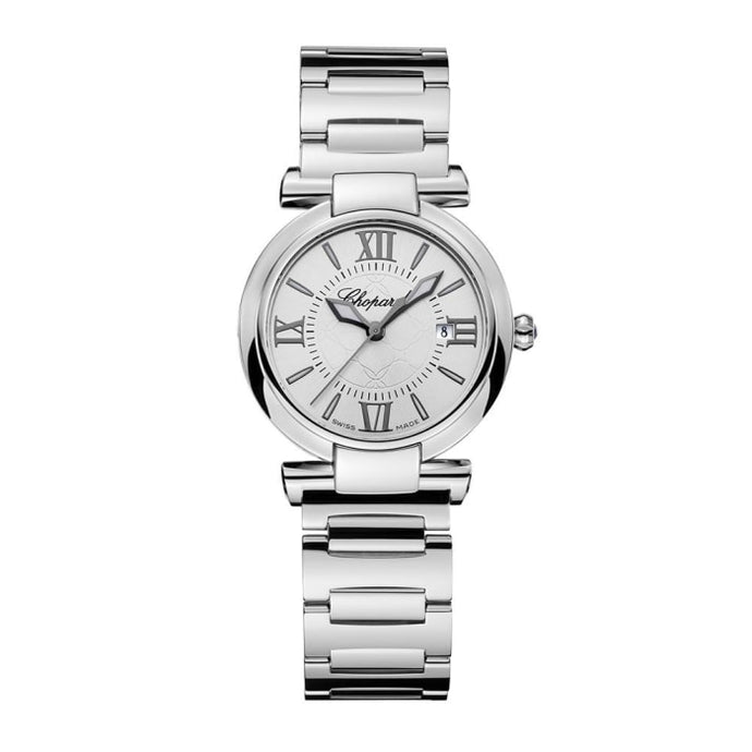 Chopard~Imperial Stainless Steel 28Mm (388541-3002) - Watches Boston
